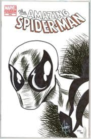 Amazing Spider-man #648 Blank Dynamic Forces Signed Remarked Ken Haeser DF COA Ltd 499 Marvel