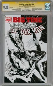 Amazing Spider-man #648 Sketch Variant CGC 9.8 Signature Series Signed Stan Lee Campbell Marvel