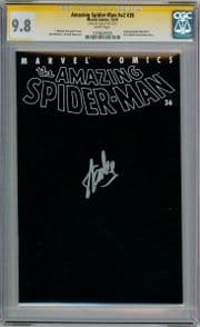 Amazing Spider-man Volume 2 #36 CGC 9.8 Signature Series Signed Stan Lee 911 WTC Marvel comic