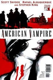 American Vampire #1 First Print Stephen King (2010) DC Vertigo comic book