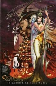 Aspen Soulfire #1 SE RRP Special Edition Signed Michael Turner Variant comic book