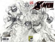 Astonishing X-Men #25 SDCC Sketch Variant (2008) Marvel comic book