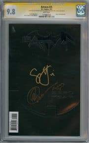 Batman #25 CGC 9.8 Signature Series Signed Scott Snyder Greg Capullo Sketch New 52 DC comic