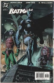 Batman #619 Heroes Gatefold Dynamic Forces Signed Jim Lee DF COA Ltd 1000 DC comic book