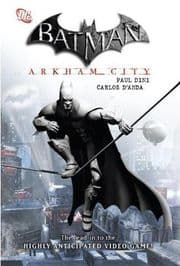 Batman Arkham City Hardcover Graphic Novel DC Comics