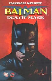 Batman Death Mask #4 (2008) Manga DC comic book
