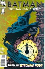 Batman Gotham After Midnight #1 (2008) Steve Niles DC comic book
