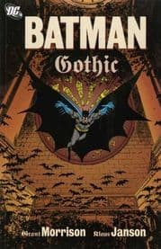 Batman Gothic Graphic Novel Trade Paperback TP Grant Morrison DC Comics