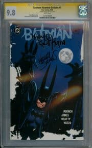 Batman Haunted Gotham #1 First Print CGC 9.8 Signature Series Signed Kelley Jones DC comic book