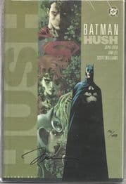 Batman Hush Hardcover Dynamic Forces Signed Jim Lee DF COA LTD 499 DC comic book