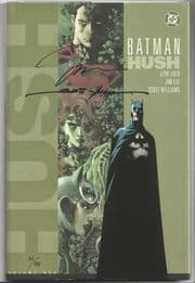 Batman Hush Hardcover Dynamic Forces Signed x2 Jim Lee Scott Williams DF COA LTD 499 DC comic book
