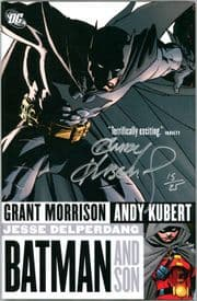 Batman & Son Hardcover Graphic Novel Dynamic Forces Signed Andy Kubert DF COA Ltd 25 DC Comics