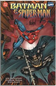 Batman Spider-man Dynamic Forces Signed Graham Nolan DF COA DC comic book