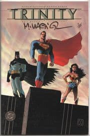 Batman Superman Wonder Woman Trinity #1 Dynamic Forces Signed Matt Wagner DF COA #5 Ltd 499 DC comic