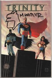Batman Superman Wonder Woman Trinity #1 Dynamic Forces Signed Remarked Matt Wagner DF Sketch DC
