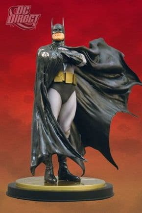 Batman The Dark Crusader Mini Statue Figurine Alex Ross DC Direct