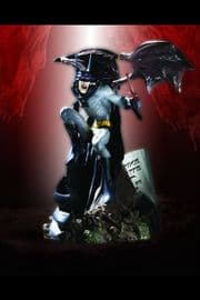 Batman Vampire Mini Statue Bust Figurine DC Direct
