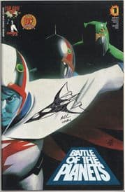 Battle of the Planets #1 Dynamic Forces Alternate Signed Remarked Phoenix Sketch DF COA Ltd 99