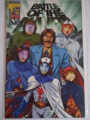 Battle of the Planets Wizard #1/2 Dynamic Forces Blue Foil DF COA Top Cow comic book