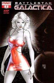 Battlestar Galactica #1 Michael Turner RRP Incentive Variant Dynamite Entertainment comic book