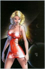 Battlestar Galactica #1 Michael Turner Virgin Retail Variant Dynamite comic book