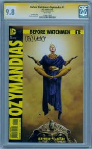 Before Watchmen Ozymandias #1 CGC 9.8 Signature Series Signed Len Wein HBO TV DC comic book