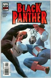 Black Panther #1 Variant (2005) Dynamic Forces Signed John Romita Jr DF COA Ltd 50 Marvel comic book