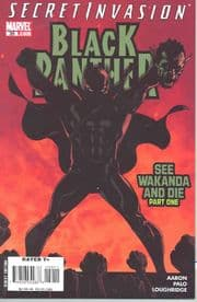 Black Panther #39 (2008) Secret Invasion Marvel comic book