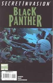 Black Panther #39 2nd Second Print Variant (2008) Secret Invasion Marvel comic book