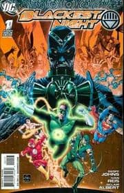 Blackest Night #1 Retail Variant 1:25 (2009) DC Comic book