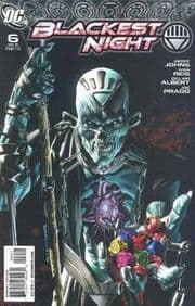 Blackest Night #6 Retail Variant 1:25 (2010) DC Comic book