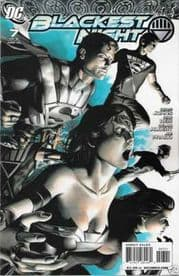 Blackest Night #7 Retail Variant 1:25 (2010) DC Comic book