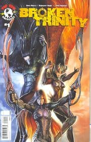 Broken Trinity #1 Cover A Sejic (2008) Witchblade Darkness Top Cow comic book
