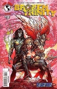Broken Trinity #2 Baltimore Marc Silvestri Variant (2008) Witchblade The Darkness Top Cow comic book