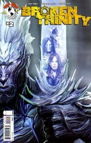 Broken Trinity #2 Cover A Sejic (2008) Witchblade The Darkness Top Cow comic book