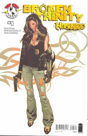 Broken Trinity Witchblade One Shot Cover B Spokes (2008) Top Cow comic book