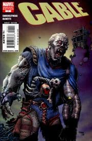 Cable #7 Richard Corben Zombie Retail Variant (2008) Marvel comic book