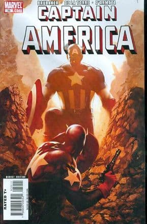 Captain America #39 (2008) Marvel comic book