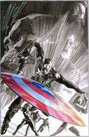 Captain America #600 Dynamic Forces Exclusive Variant Signed Alex Ross DF COA Marvel comic book