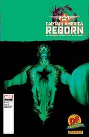Captain America Reborn #1 Dynamic Forces Alex Ross Negative Variant Cover DF COA Marvel comic book