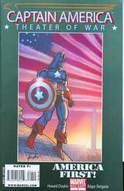 Captain America Theater Of War America First (2008) Marvel comic book