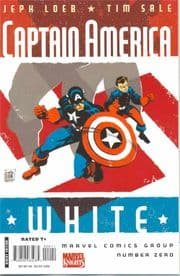 Captain America White #0 Jeph Loeb Tim Sale Marvel comic book