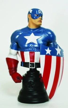 Captain America WWII Bowen Mini Bust Statue Ltd 1300