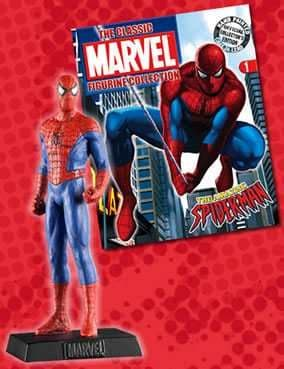Classic Marvel Figurine Collection #001 Spider-man Eaglemoss Publications