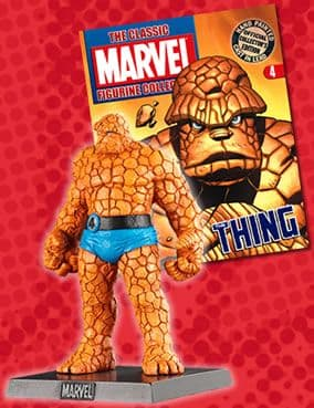 Classic Marvel Figurine Collection #004 The Thing Eaglemoss Publications