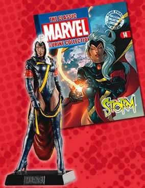 Classic Marvel Figurine Collection #014 Storm Eaglemoss Publications