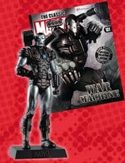 Classic Marvel Figurine Collection #101 War Machine Eaglemoss Publications