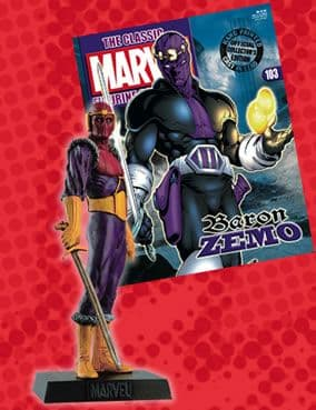 Classic Marvel Figurine Collection #103 Baron Zemo Eaglemoss Publications