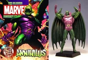 Classic Marvel Figurine Collection #132 Annihilus Eaglemoss Publications