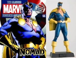 Classic Marvel Figurine Collection #135 Nomad Eaglemoss Publications